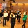 Linedance i full gång! Avslutningsdans VT maj-12