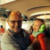 'Det här var en rolig farbror & dansa med' tänkte Edvin. Edvin & Ronny, Uppsala 17 maj 2014