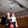 Marlene & Fredrik fick varsina fina hattar av Lena och se så glada vi blev! Hahaha! Julfest/Linedanceavslutning HT-12